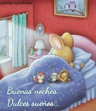 buenas noches tiernas