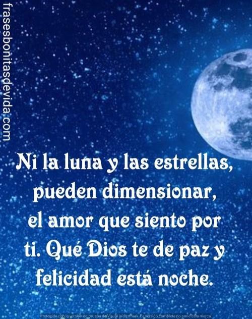 buenas noches mi linda