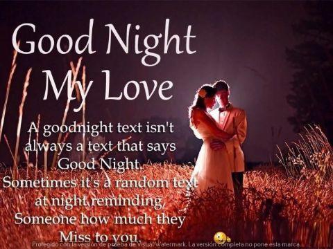 buenas noches gente linda