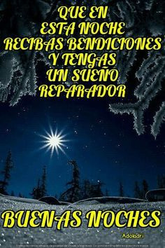desear buenas noches