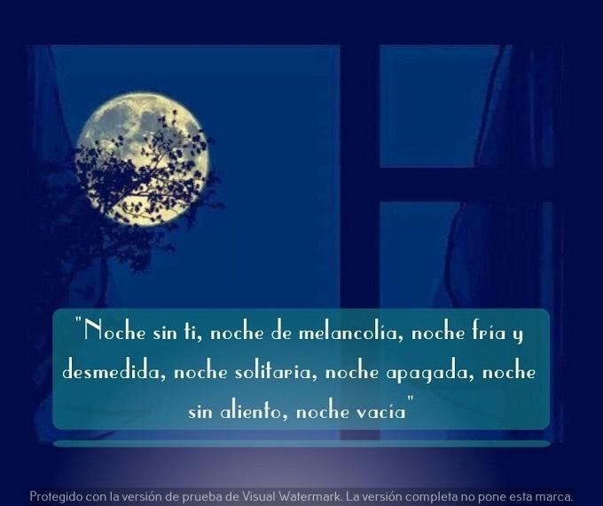 poema de buenas noches