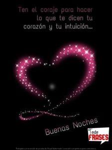 mensaje de buenas noche de amor
